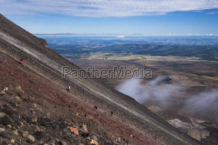 mount ngauruhoe volcano summit climb an