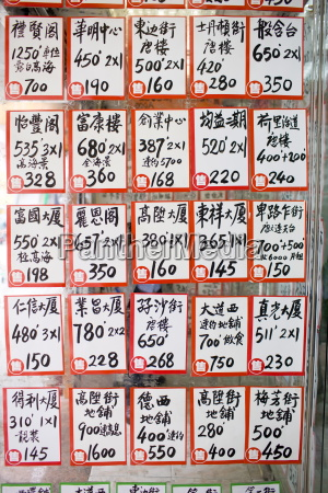 property for sale signs at s