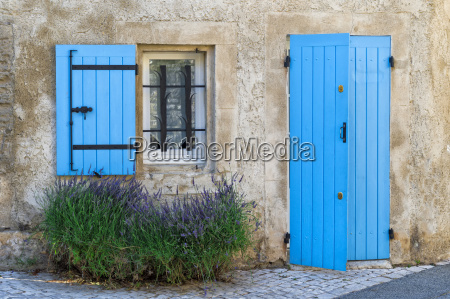 blue shutter and door saint remy