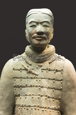 museum of the terracotta warriors bust