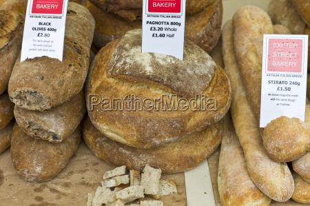 artisan italian bread pagnotta black olives