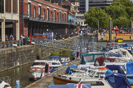 the docks bristol england united kingdom
