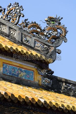 roof detail thai hoa palace