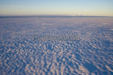 inland icecap on expedition greenland polar