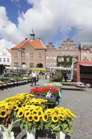 weekly market at the market place