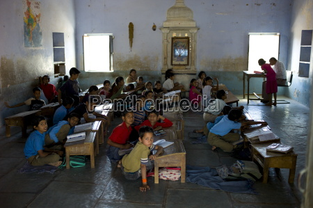 indian children at rajyakaiya school