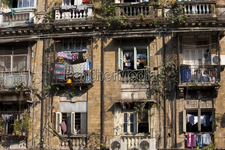 tenement block traditional chawl housing scheme