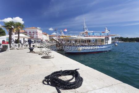 excursion boat at the promenade at