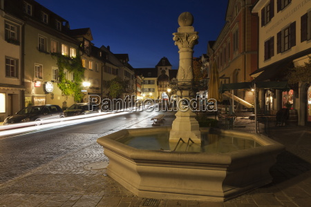 fountain in the old town of