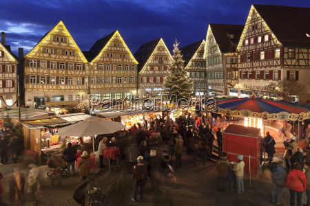 christmas fair in the market place