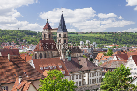 old town with st dionysius church