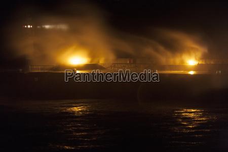 huge storm waves crash over penzance