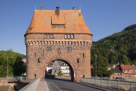 bridge gate on a bridge over