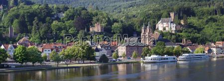 mildenburg castle and parish church of