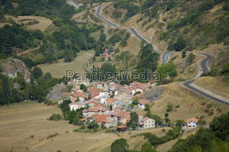mountain village in valley santa marina