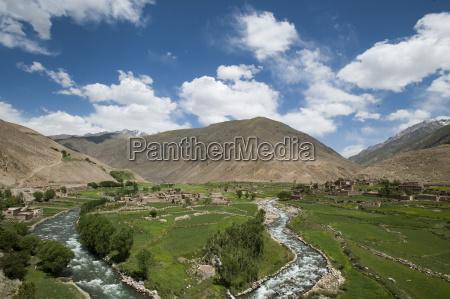 the panjshir valley afghanistan asia
