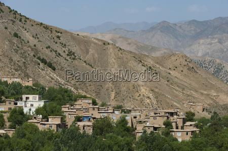 mountainous panjshir valley which endures six