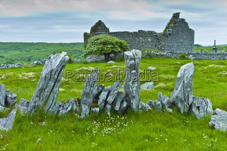 historic site medieval village ruins and