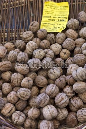 fresh walnuts on sale at food