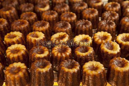 local speciality cakes caneles on sale
