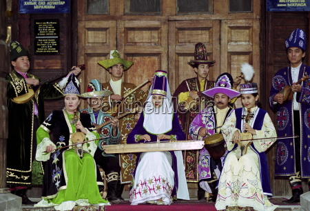 musicians entertaining at a traditional cultural