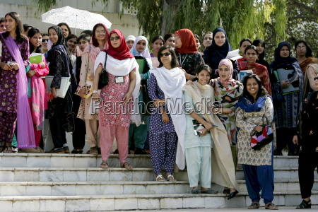 students at the all female fatima