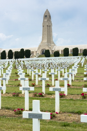 cemetery of douaumont and the ossuary