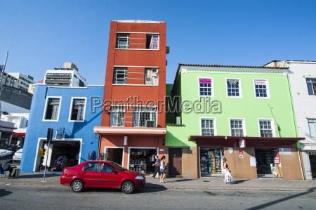 colourful houses in florianopolis santa catarina