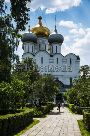 smolensk cathedral novodevichy convent moscow russia