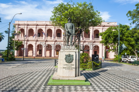 the pink cabildo museum of the
