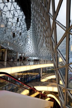 interior of zeil shopping center in