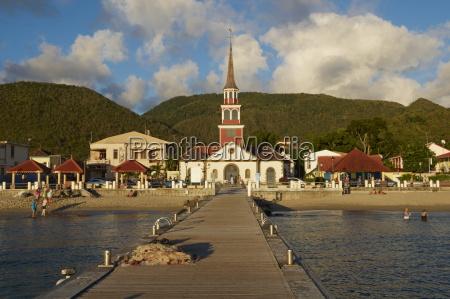 church and pontoon grande anse les