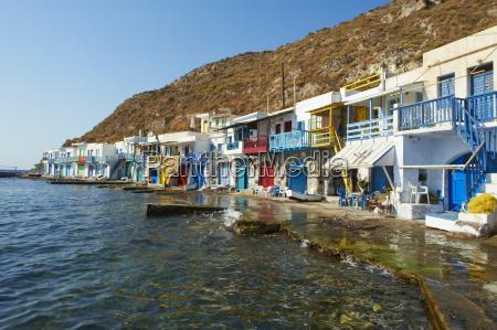 old fishing village of klima milos