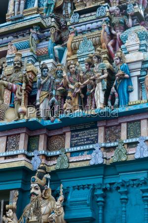 hindu temple exterior colombo sri lanka