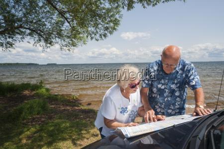 senior caucasian couple in their 70s