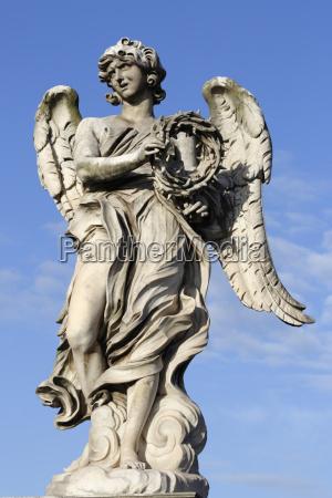 berninis breezy maniac angels statue on