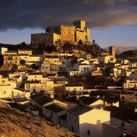 renaissance castle and town velez blanco