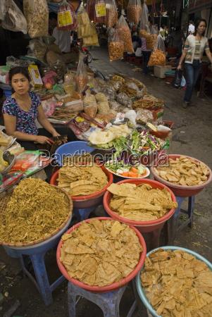 street traders hanoi vietnam indochina southeast