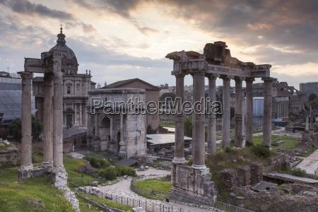 the roman forum foro romano rome