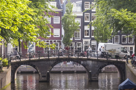 a canal in amsterdam unesco world