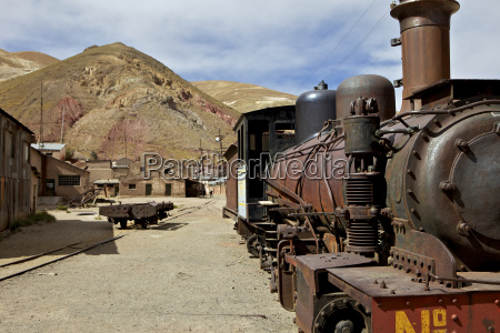 the old mining ghost town of