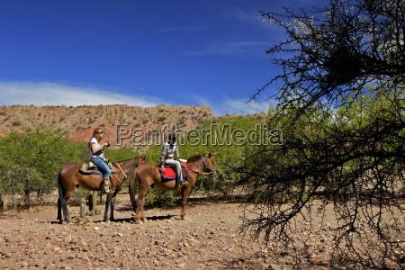 horse riding canon del inca tupiza
