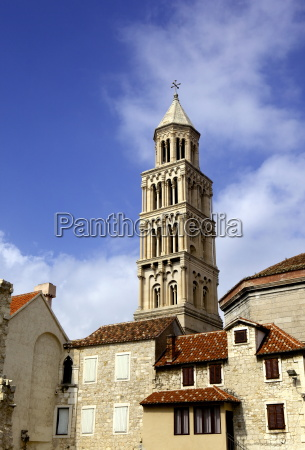 the campanile bell tower of cathedral