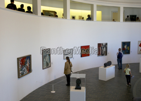 interior of the tate gallery in