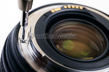 photo equipment service disassembling camera lens