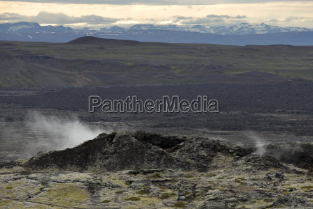 geothermal fields of krafla iceland