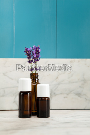 essential oils of lavender in mediterranean