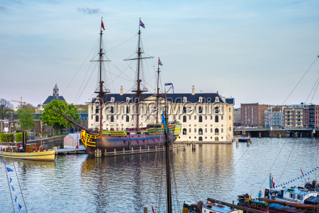 scheepvaartmuseum national maritime museum housed in