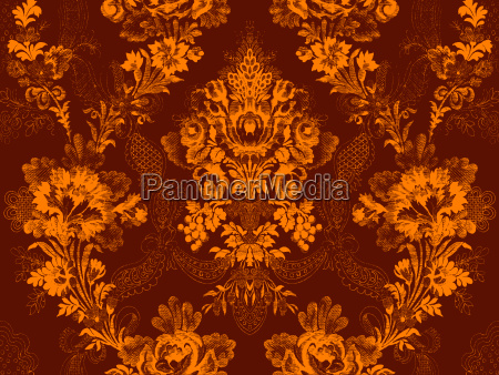 victorian floral pattern abstract flower rose