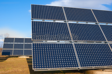 solar power plant using renewable